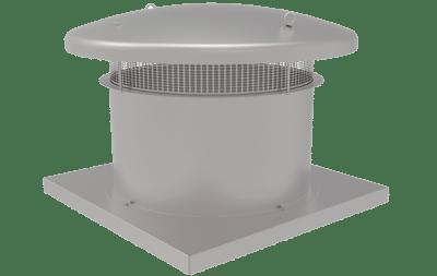 dikey atışlı çatı tipi aksiyal fan