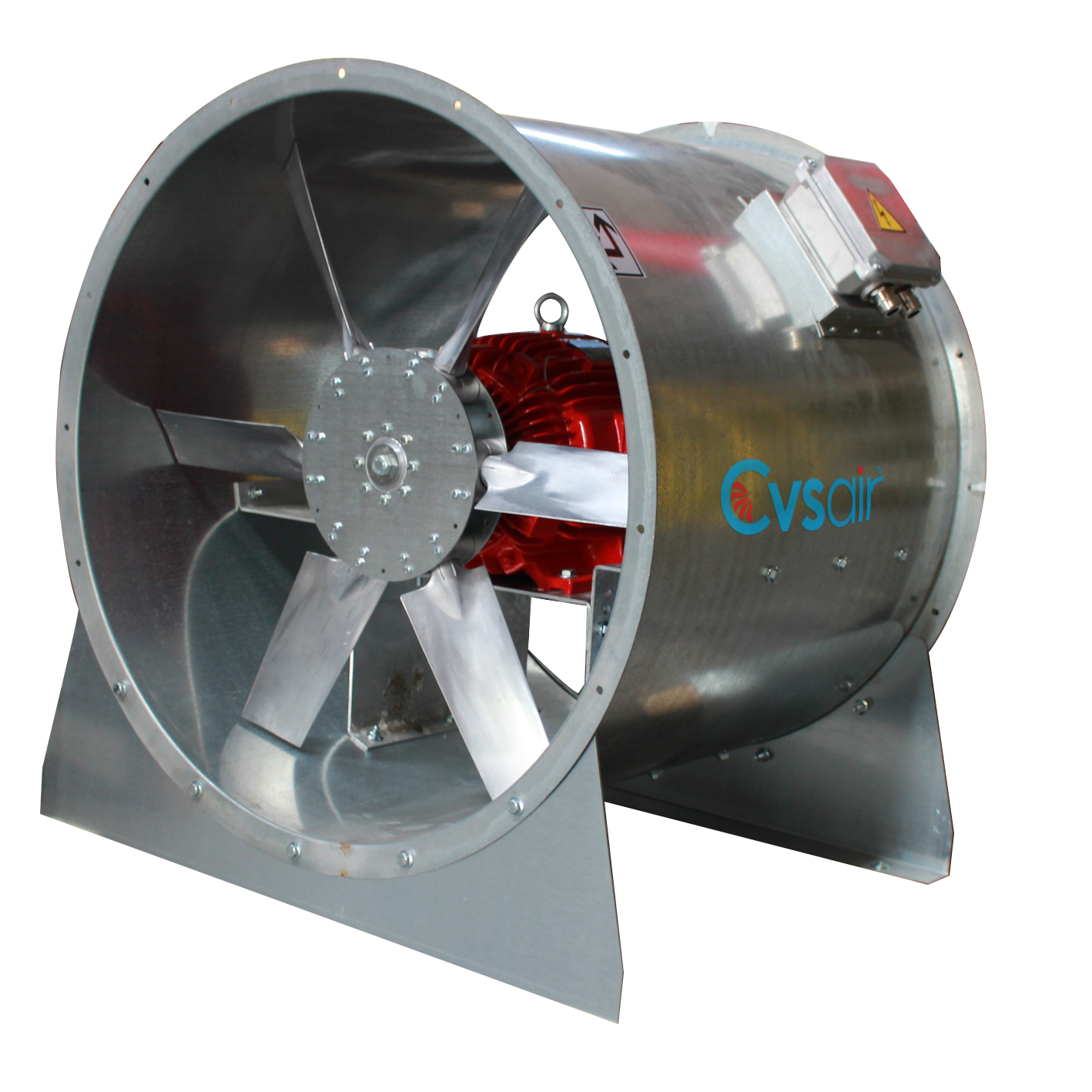 Axial Smoke Exhaust Fans F300 - CVSAIR Ventilation