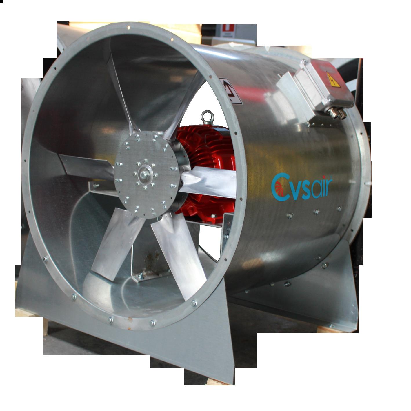 Axial Smoke Exhaust Fan F400